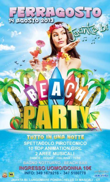 Beach Party 2013 - Italy